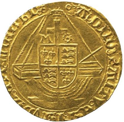 Золотой энджел Елизаветы I